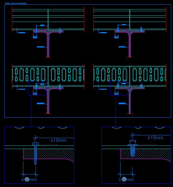 100 Corrugated Steel Decking For Concrete Bpm