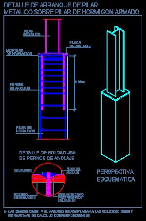 hormigon_armado_concreto_arranque_pilar_columna_metalico_detalle_bloque_dwg