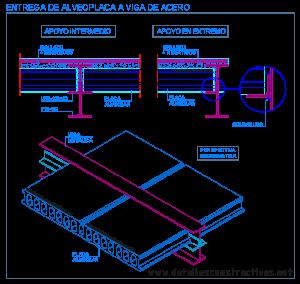 Concreto for Placa de acero