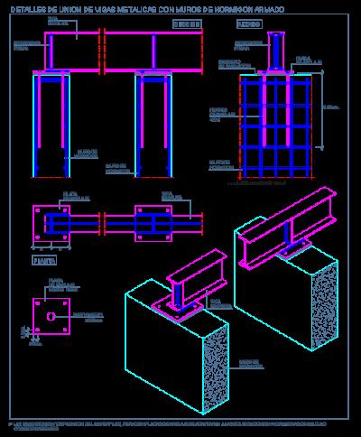 Detalles constructivos en dwg - Escalera metalica prefabricada ...