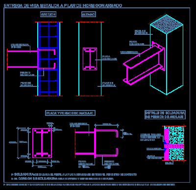 pilar_hormigon_columna_concreto_viga_metalica_steel_beam_beton_poutre_acier