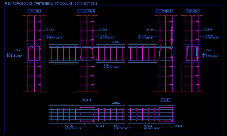Rcc Beam Detailing : Detallesconstructivos construction details cad blocks