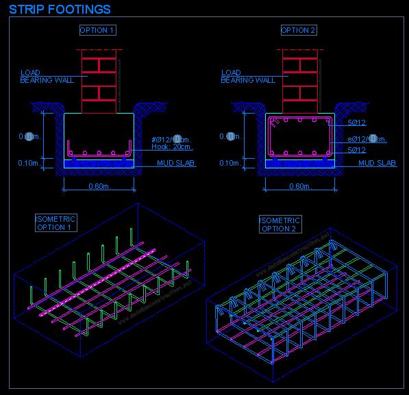 Strip Foundations Detallesconstructivos Net