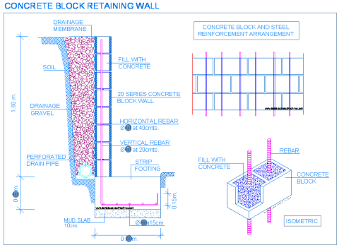concrete_block_wall_retaining_detail_drainage_strip_footing_bloc_de_beton_mur