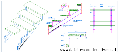 escalera_metalica_perfiles_peldaños_madera_pasamanos_huella_tubo_estructural
