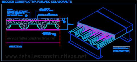 metal_steel_deck_forjado_colaborante_mixto_losa_acero_novalosa_chapa_viga_metalica_dalles_mixtes_acier_beton_plancher_tole_bac_nervure_poutre_detail_structure_verbun_decken_detail_dwg_cad