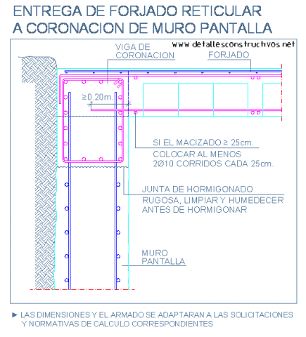 reticular_casetonada_losa_forjado_coronacion_muro_pantalla_hormigon_armado