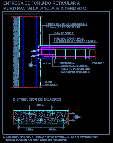 reticular_casetonada_losa_forjado_muro_pantalla_hormigon_armado_concreto_cad_dwg
