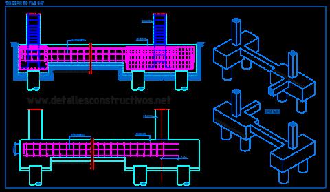 tie_beam_pile_cap_strap_column_reinforced_concrete_deep_foundations_semelle_sur_pieux_trabe_liga_beton_bored_fondations_profondes_detail