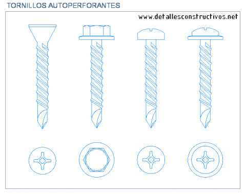 tornillos_autoperforantes_autotaladrantes_self_drilling_screw_vis_autoperceuse