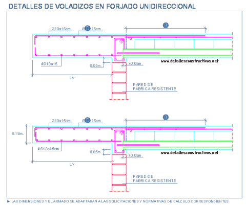 voladizo_forjado_unidireccional_losa_maciza_ceramica_cantilevered_flat_joist