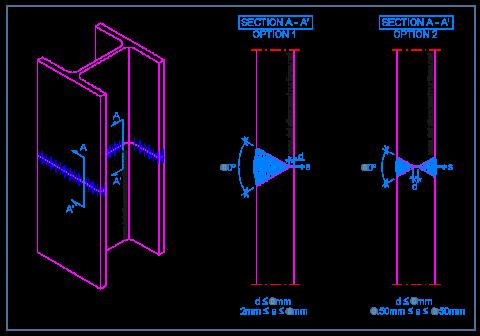 weldel_connection_butt_joint_i_shape_steel_frame_deep_fillet_soudures