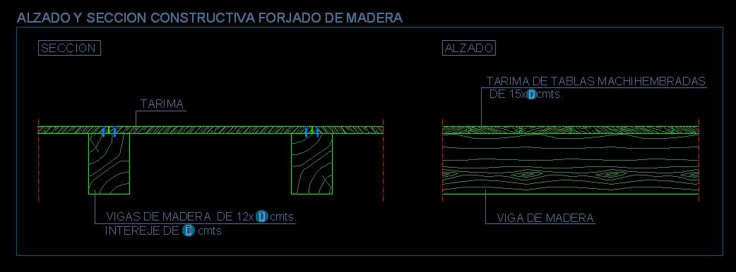 Pavimentos - Vigas de madera para techos ...