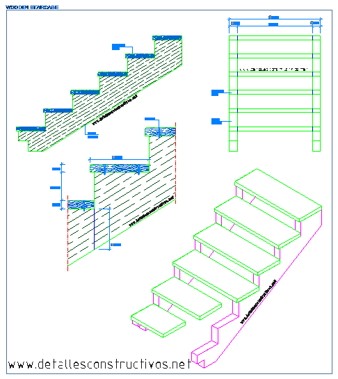 Stair Light Detail: CONSTRUCTION DETAILS CAD BLOCKS